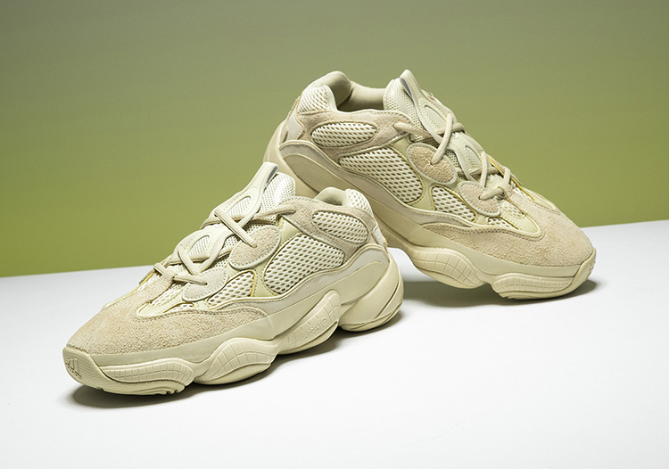 f6f2ef8ce1f2a Adidas Yeezy 500 Coconut 500 Grandpa kanye old shoes black yellow ...