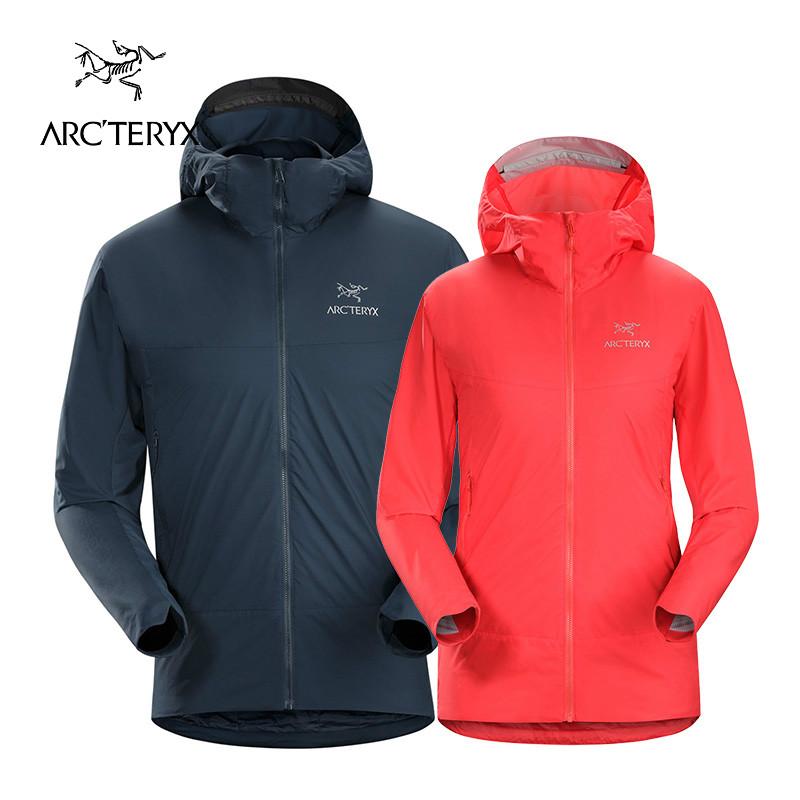 18新品 Arcteryx-始祖鳥男女款戶外輕量保暖連帽棉服夾克Atom SL