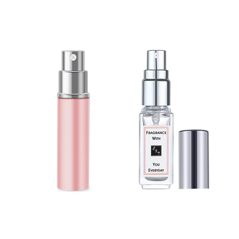 网红达人们都在用香水分装瓶便携式高档喷雾瓶铝制外壳