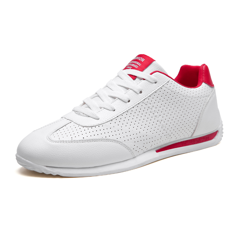 WHITE RED / PERFORATED / 1701