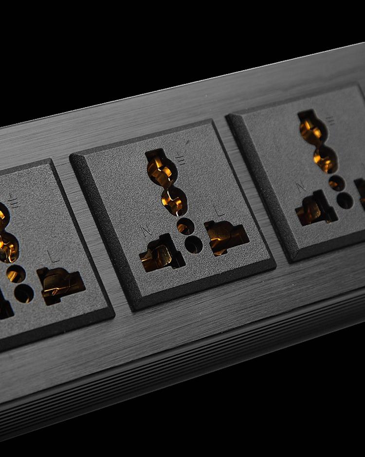声弦电源滤波器静化器过载防雷插座音箱滤波发烧电源插座详细照片