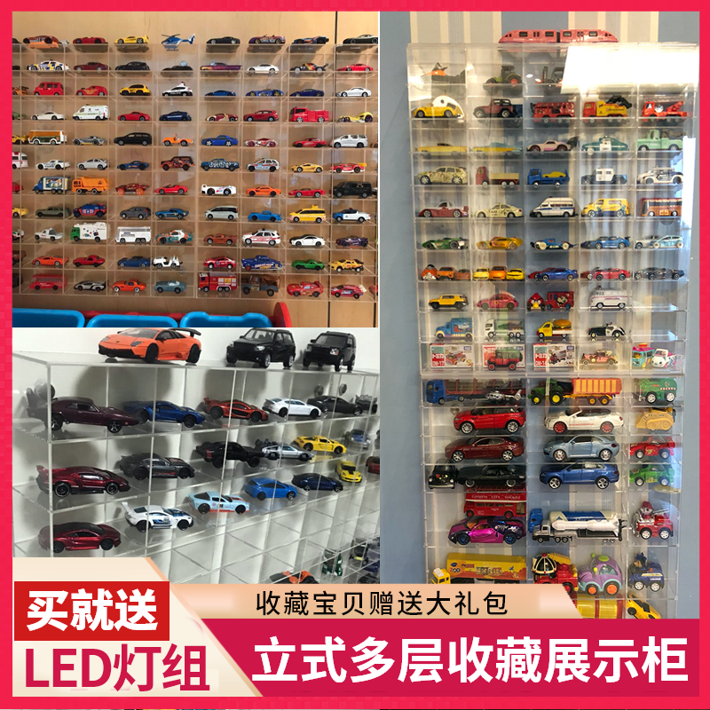Toy Car Model Display Cabinet Car Home Wall Hanging Dome Card