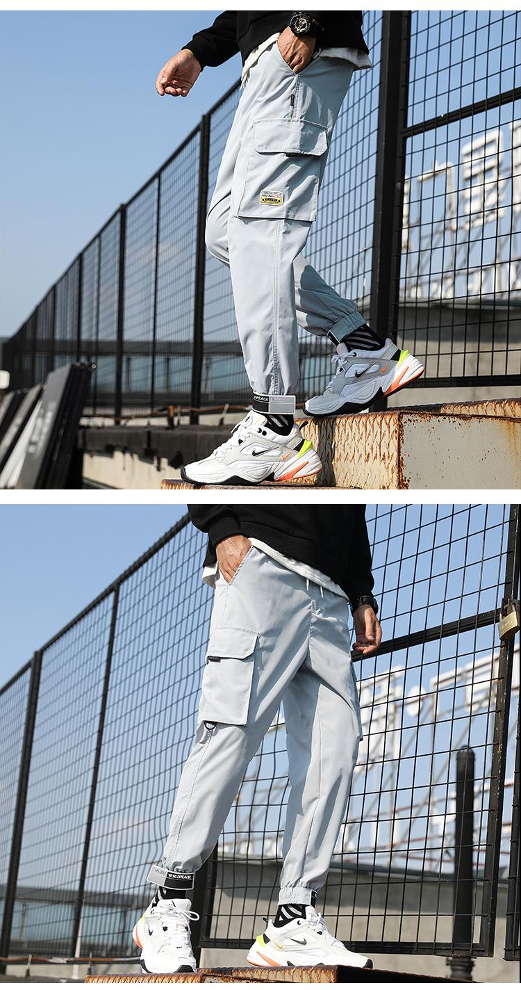 春款男休闲裤束脚裤哈伦裤子九分裤工装裤长裤K15+K82+A300+K8811