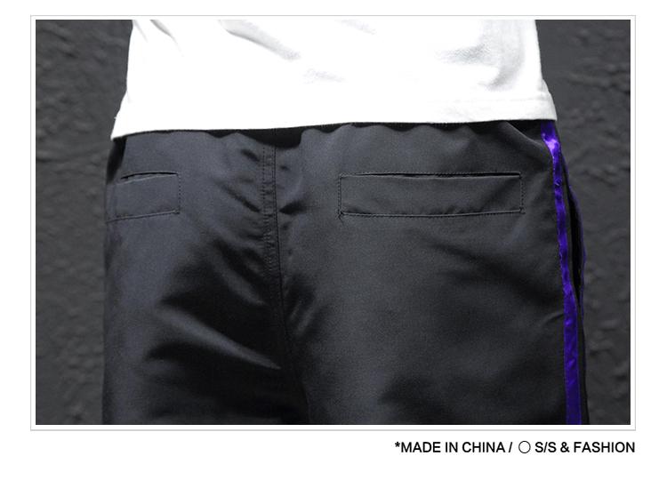 新款休闲裤子长裤哈伦裤运动裤九分裤日系爆款男生学303A-K01-P2