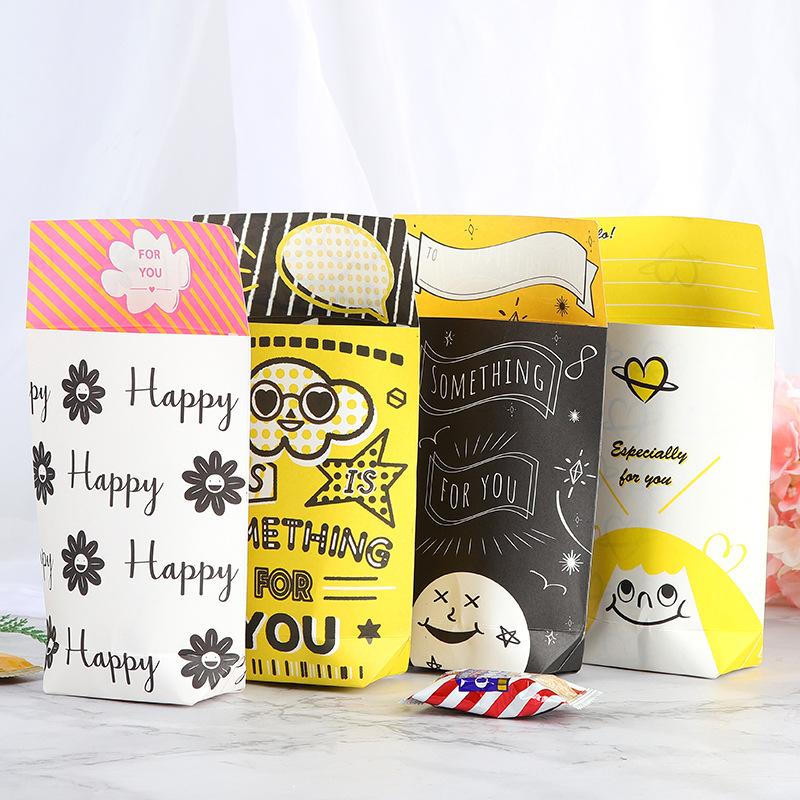 新年纸盒包装盒可爱礼物喜糖盒v纸盒糖果盒S682元旦卡通糖盒