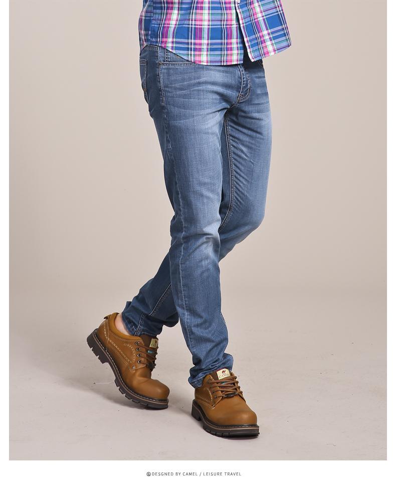 Скидки на Camel мужские брюк 2016 Стиль Модного Бизнеса Досуг Жан Мужской SX6316060