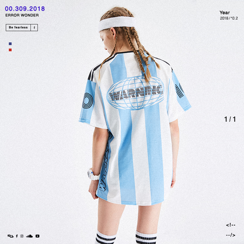 letstee Argentina jersey 2018 World Cup No. 10 Messi blue and white loose  sports short eac9b3891