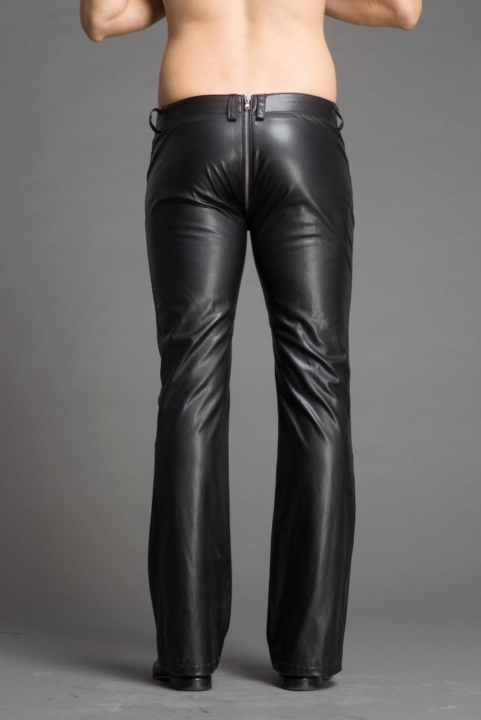 2018 Men's stylish flared leather pants.     29-36!! 42