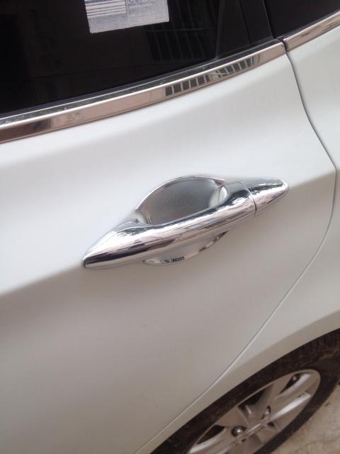 автомобильные дверные ручки Ben flash VERNA ABS