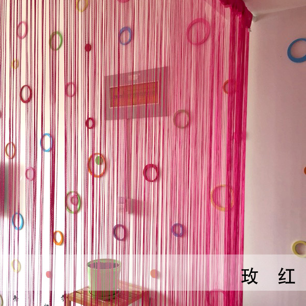 Encrypted wire curtain decorative partition curtain curtain living ...