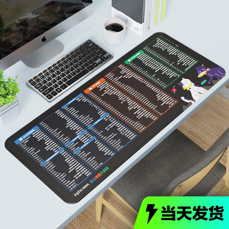 【超划算】超大加厚锁边办公游戏鼠标垫