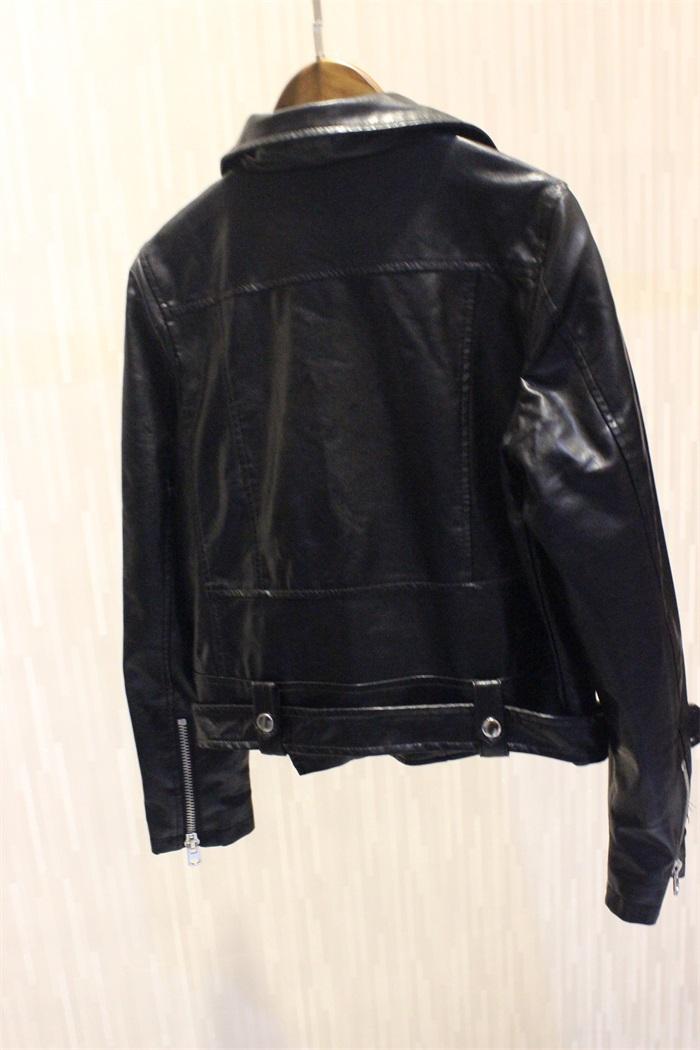 Кожаная куртка 2099  AFTF BASIC PU