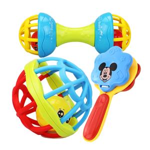 婴儿玩具摇铃可咬软胶手抓球益智玩