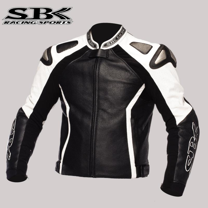 SBK皮衣男防摔賽車服皮衣摩托車外套騎行皮夾克機車服皮衣可定制