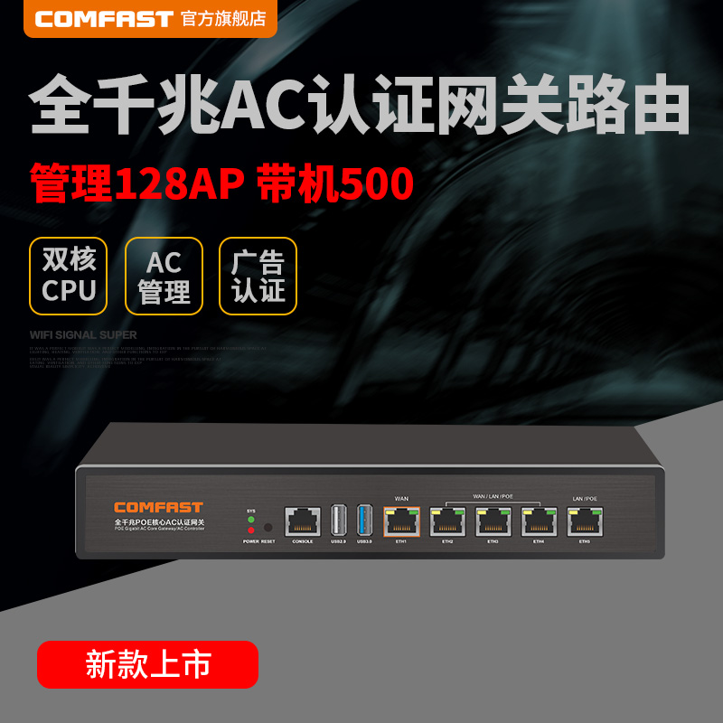 USD 511.43] COMFAST CF-AC101 Gigabit enterprise class wired router ...