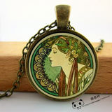 Overseas Shopping Handmade Necklaces Pendant Retro Style Jewelry Gift Art Design Female Jewelry