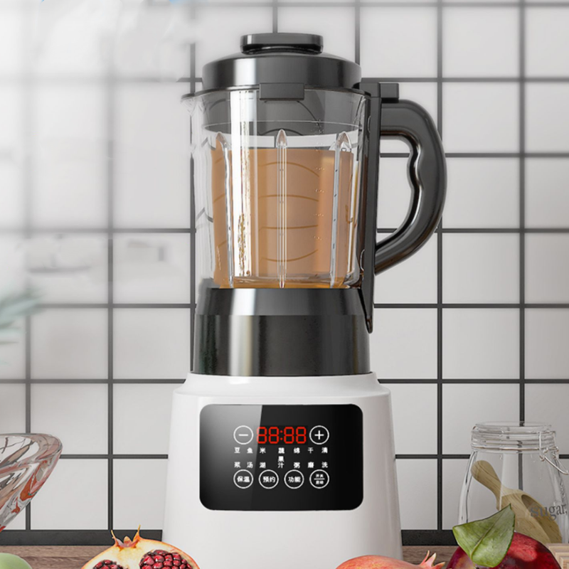 凯爵德国新款破壁机家用低音多功能豆浆机全自动料理机榨汁加热
