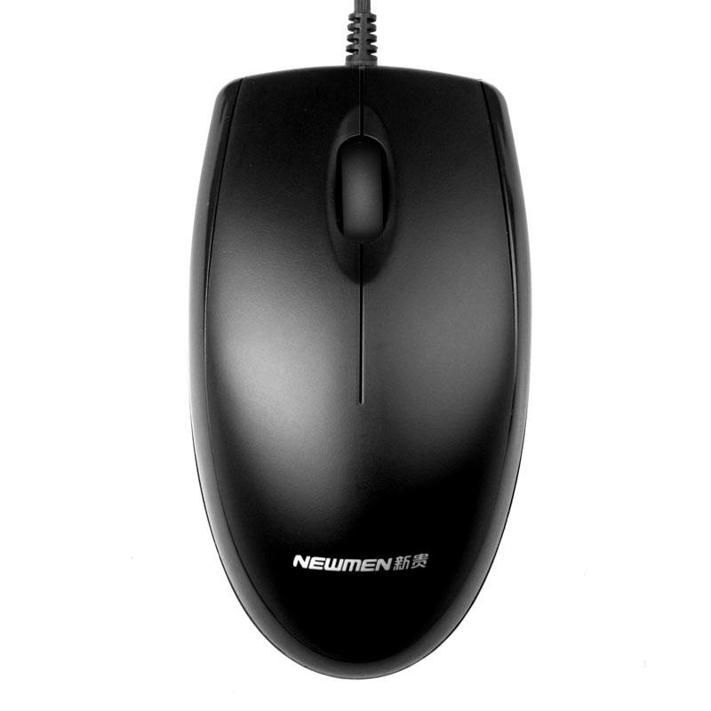 【新贵】N107有线鼠标USB接口