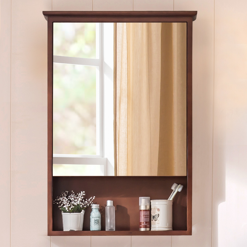 Lightbox Moreview Prevnext American Bathroom Mirror Cabinet Box Solid Wood