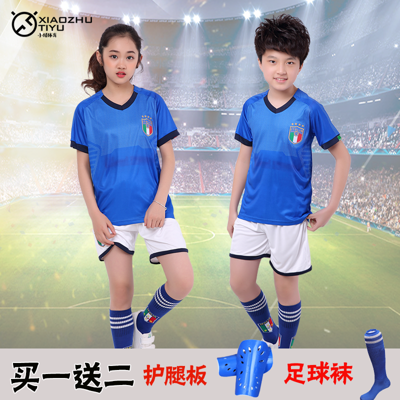 Italian children s soccer suits men and women students class clothing  summer DIY custom uniforms training suits suit jerseys fbb8aa61e4