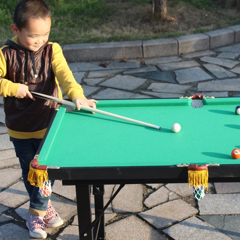 Sea Crafts Childrens Pool Table Home Billiards Can Be - Fold up pool table full size