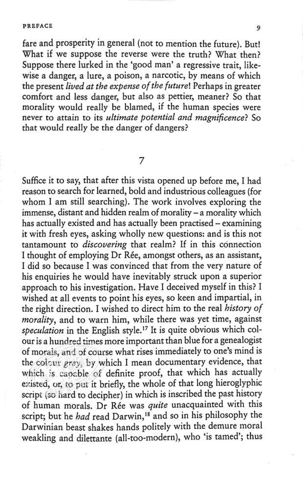 【中商原版】尼采:論道德的系譜 英文原版On the Genealogy of Morals