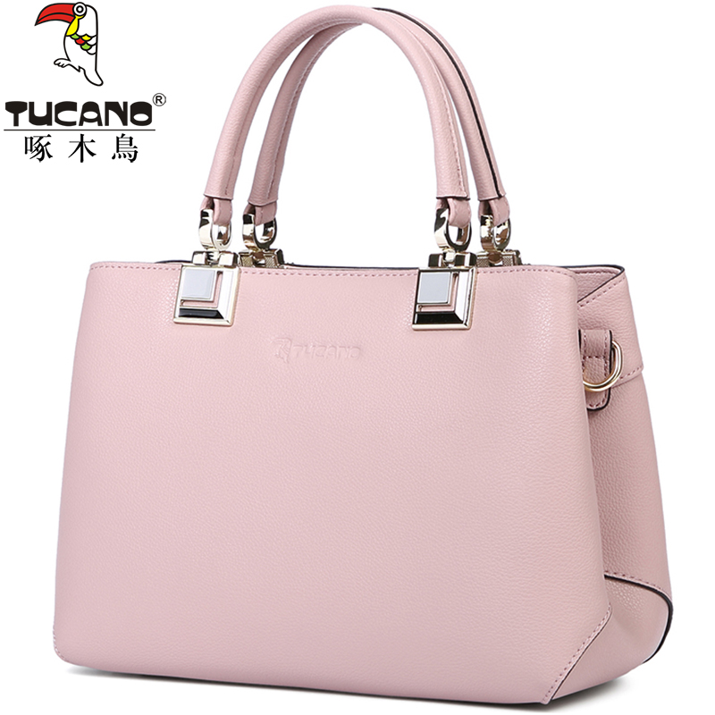 Woodpecker female bag 2018 New Fashion Shoulder Bag Ladies Big Bag female  handbag leather bag female f09ce00654