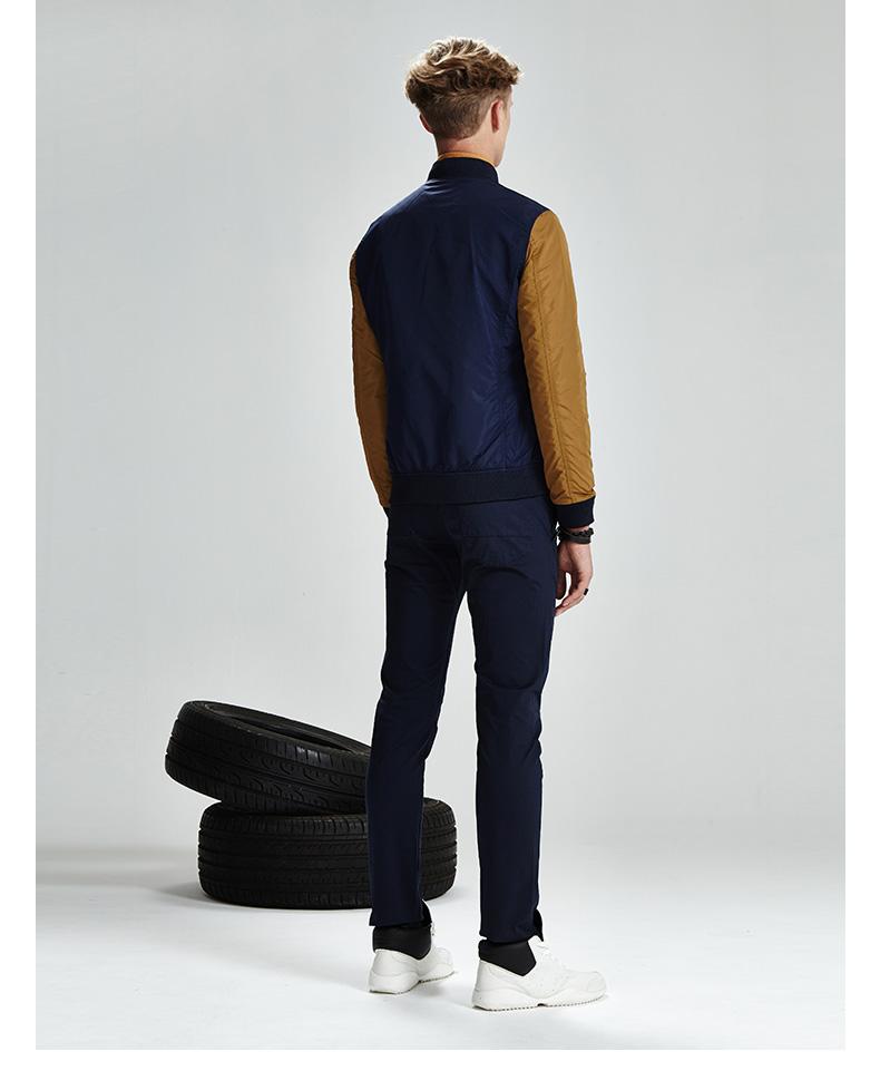 SHAKE Huafei loại mùa thu và mùa đông new bông coat đồng phục bóng chày cổ áo jacket áo khoác bông dày ấm bông áo khoác