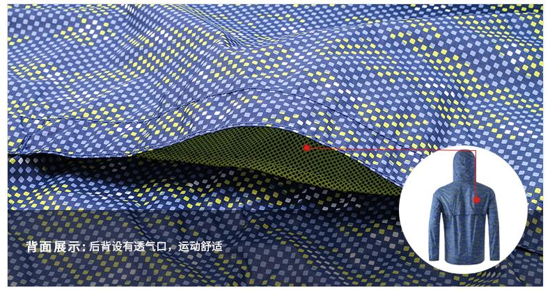 地球科学家 男 轻薄透气 防风防晒防泼水 皮肤风衣 图8