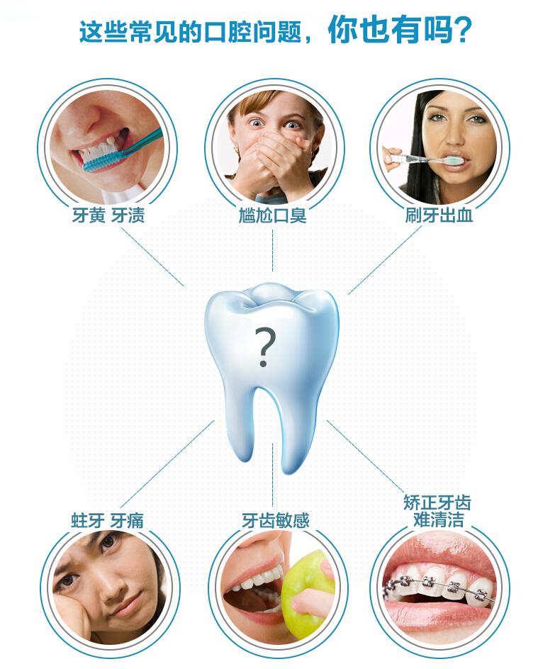 ES1021匹奇超声波震动电动牙刷 深度清洁降低牙龈出血牙刷2