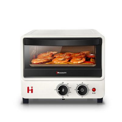 海氏B08烤箱家用小型迷你小烤箱早餐电烤箱12升多功能烘焙全自动