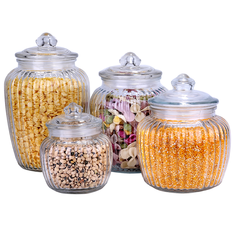 Glass Food Sealed Cans Household Dried Fruit Miscellaneous Food