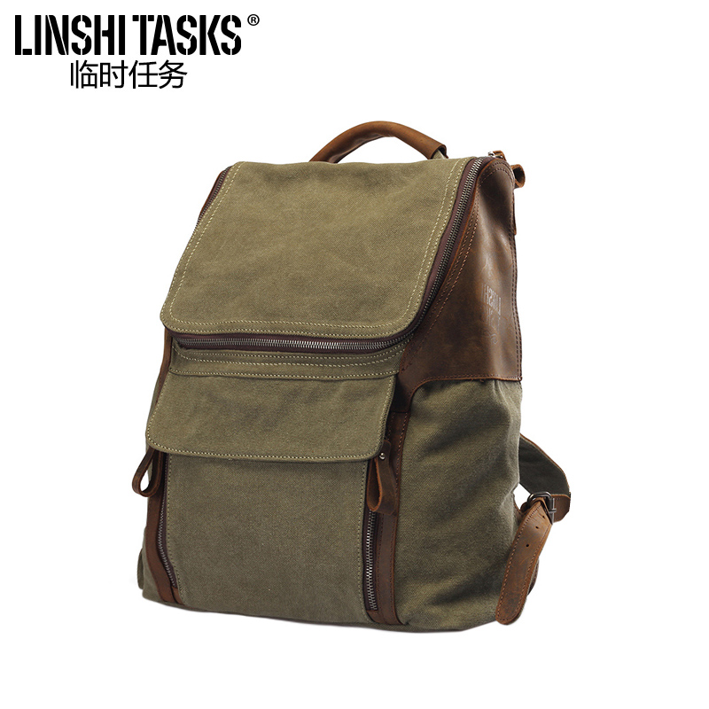 63021f30b75c Temporary task men s canvas bag Korean version of the shoulder bag student  bag travel bag leisure