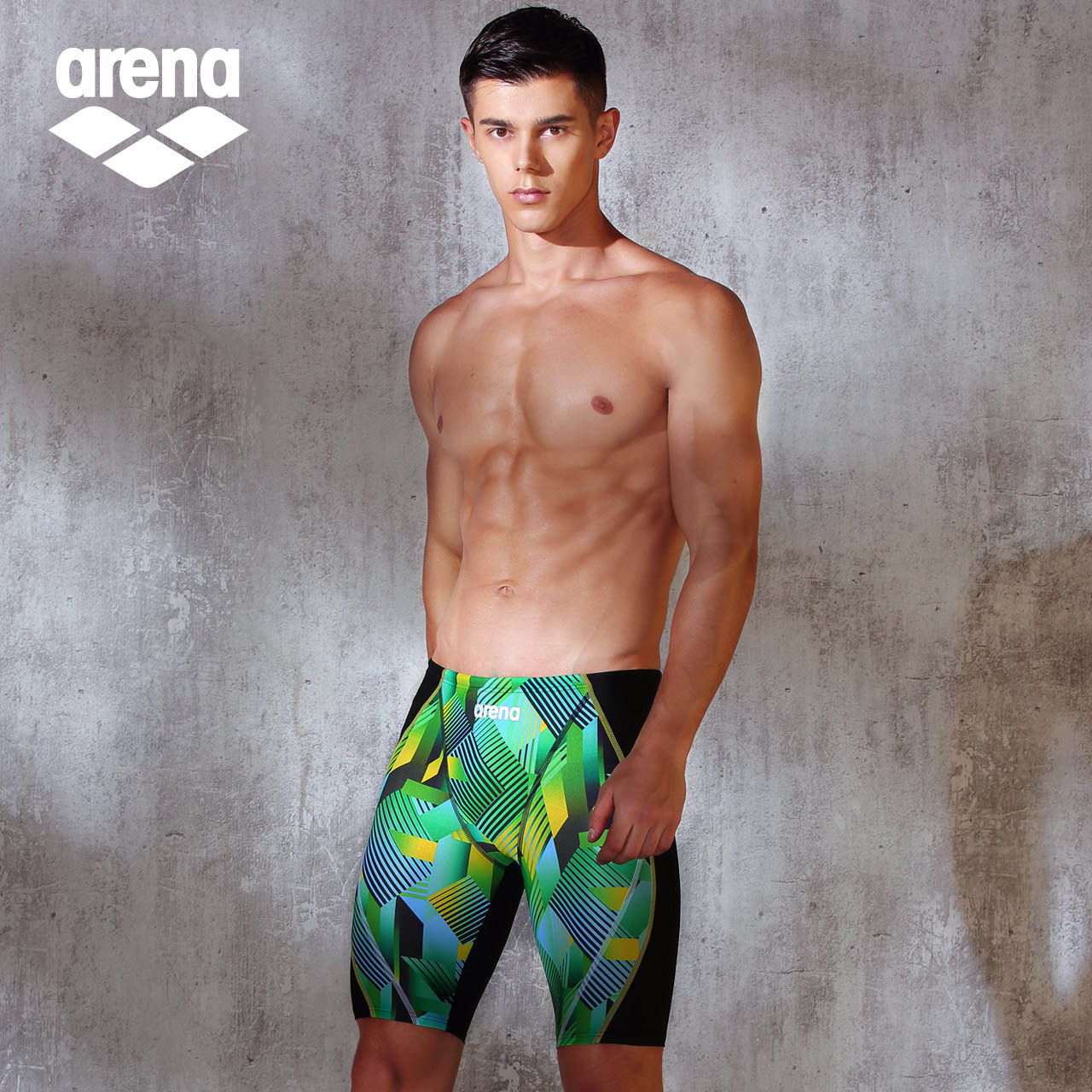 bf4edf1eb9 arena Ariane men's swim trunks five points knee-length swimming trunks male  high-elastic. Zoom · lightbox moreview · lightbox moreview ...