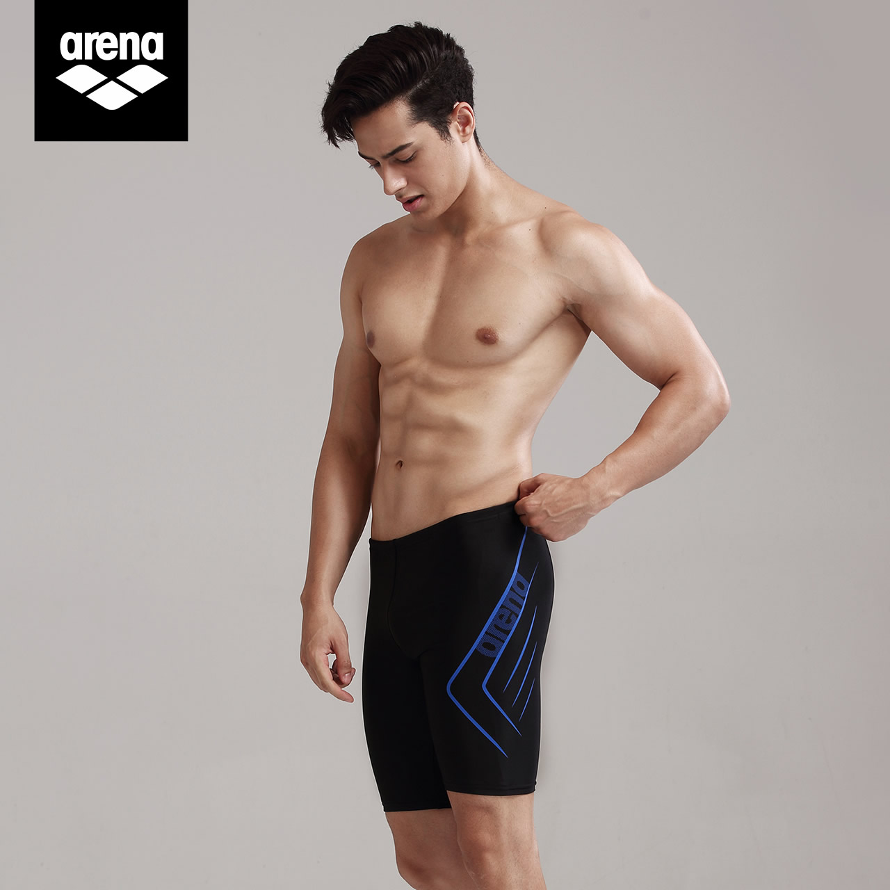 8a894158d4 USD 81.35] arena Ariane swimming trunks men's anti-embarrassing ...