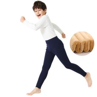 儿童加绒加厚棉裤羊毛裤保暖裤