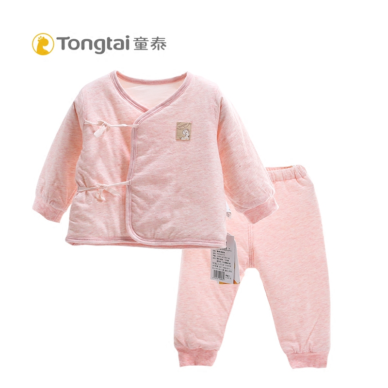 edf4a77b6 Tong Tai baby cotton-padded jacket newborn cotton suits spring and ...