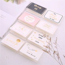 30 Korean creative greeting cards business birthday wishes diy cards bronzing new year teacher holiday thank you cards