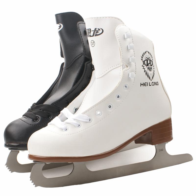 Коньки Черный Дракон скейт обувь для детей, фокусы для взрослых скейт скейт обувь для мужчин и женщин, начинающих кататься на коньках-это действительно вода ледяная обувь нож