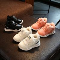 女童雪地靴宝宝棉鞋短靴婴儿棉童鞋休闲靴