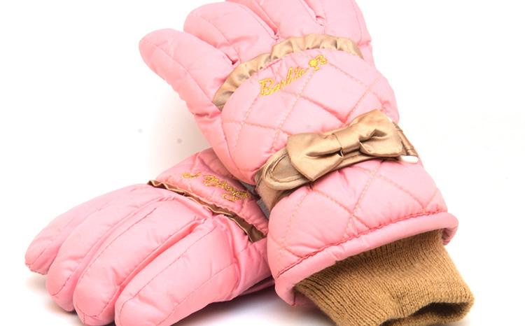 ถุงมือกันหนาวเด็กผู้หญิง