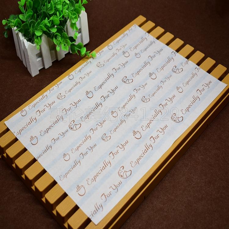 Бумага для выпечки Бесплатная доставка по Матем лоток бумага лоток хлебца нефти поглощающей бумаги хлеба смазать бумагу гамбургер лоток выпечки бумага масл-доказательство лист бумаги 1000 листов