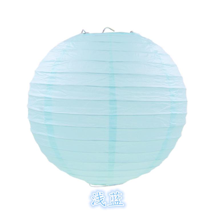 Светло голубой 30см(10 пакетов)
