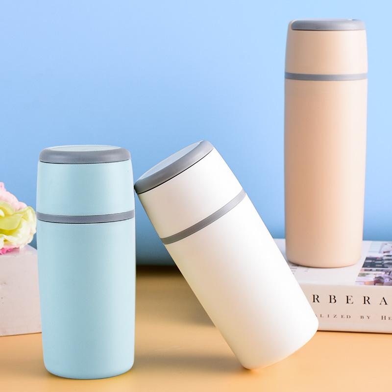 防烫防摔玻璃小水杯便携家用儿童高颜值