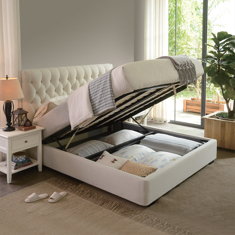 The Nordic Bed American Cloth Art Double 1 51 8 M Master Bedroom Modern Simple