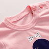 Youbeiyi Children's underwear set cotton pajamas baby autumn clothes baby clothes boys and girls autumn clothes home service