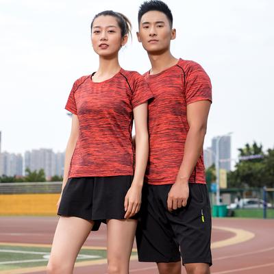 【sksa】户外速干男女跑步健身套装