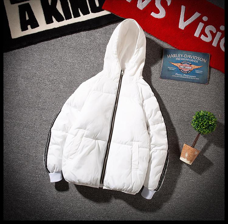 男士外套学生棉衣加厚韩版短款迷彩棉袄羽绒棉服A076-1M168P85