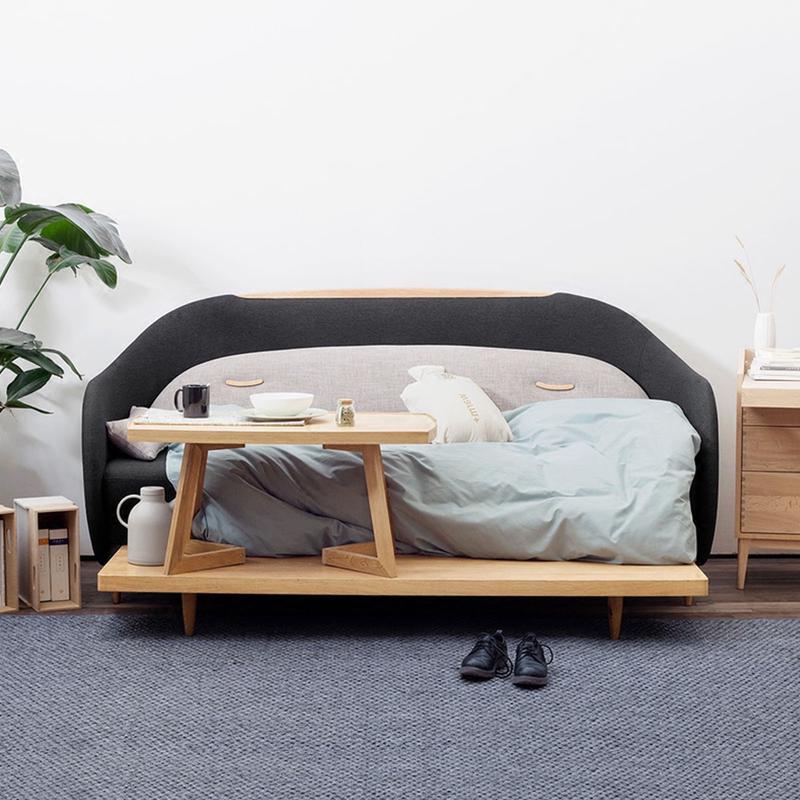 功能性卧室布置,简直是一个人的天堂
