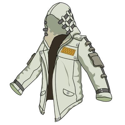 Quần áo Jedi survival assassin phù hợp với tín ngưỡng trắng nam áo khoác nam gà với cùng một áo len áo gió Geely quần áo Áo len